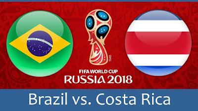 Tips Bola Piala Dunia Brasil vs Kosta Rika