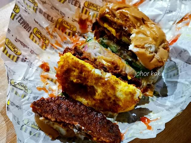 Fendy Burger. Best Ramly Burger in Kluang Johor