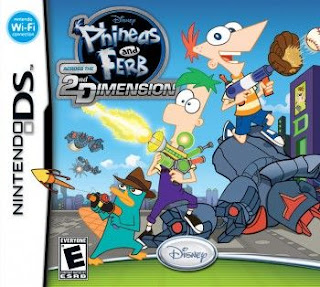 Phineas and Ferb: Across the 2nd Dimension, NDS, Español, Mega, Mediafire