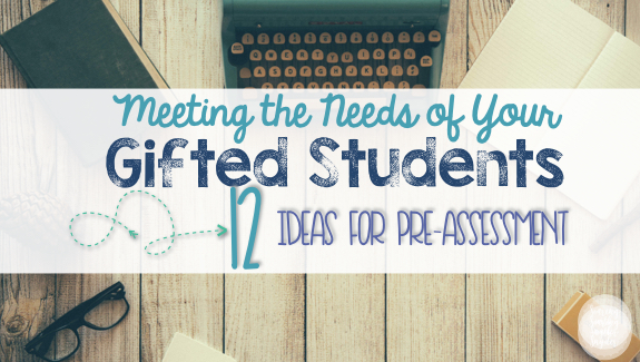 Meeting The Needs Of Your Gifted Student Differentiated Instruction