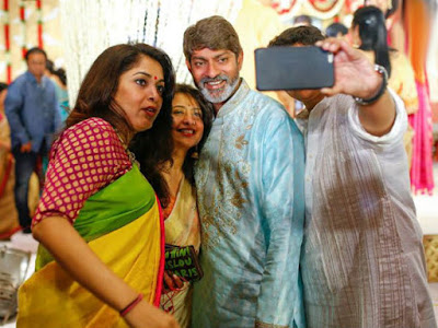Ramya Krishnan in Jagapathi babu's daughter Meghana wedding