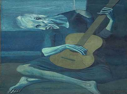the-old-guitarist-عازف-الجيتار-العجوز