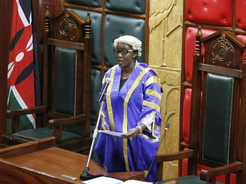 Beatrice Elachi Speaker Nairobi County Assembly