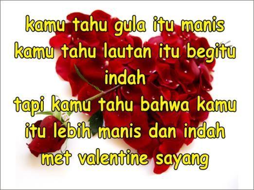 kata kata romantis valentine day