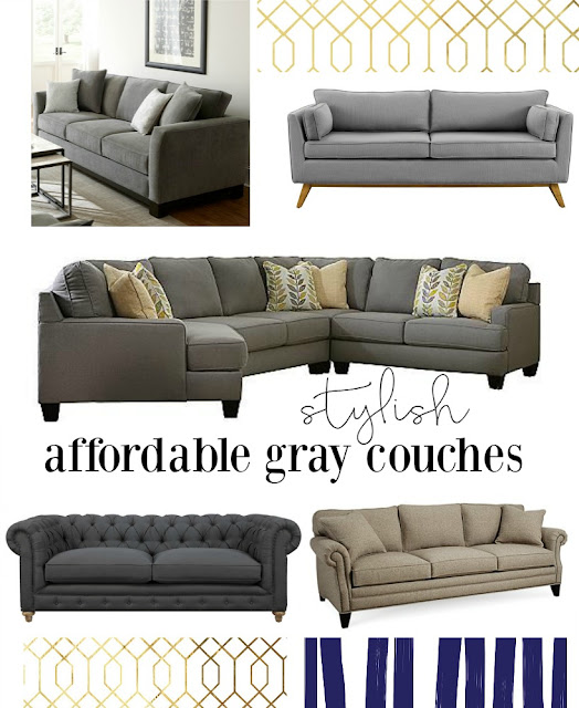 Affordable gray Couch