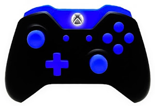 mod controllers xbox one modded controllers xbox one blue out