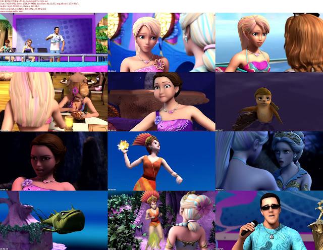 Barbie En una Aventura de Sirenas 2 2012 DVDRip Español Latino 1 Link