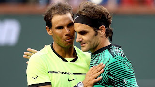 Federer crushed Rafa Nadal at Indian Wells