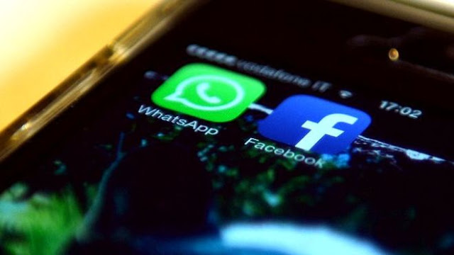no se permitira pasar informacion de facebook y whatsapp