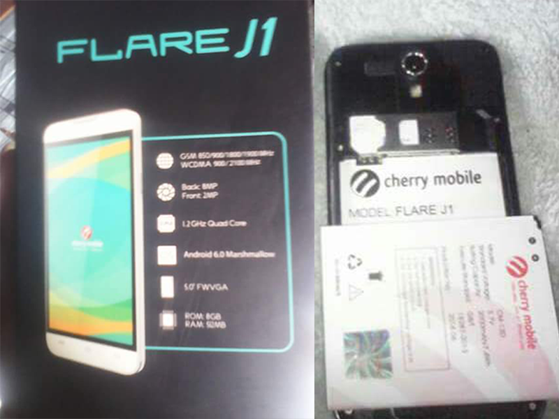 Cherry Mobile Flare J1 Has A New Variant, Now With Marshmallow OS And Priced At 1999 Pesos!