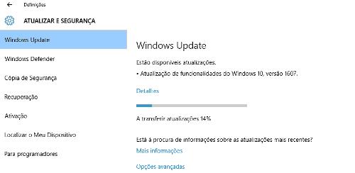 Como saber se possuo a atualização de aniversário do Windows 10