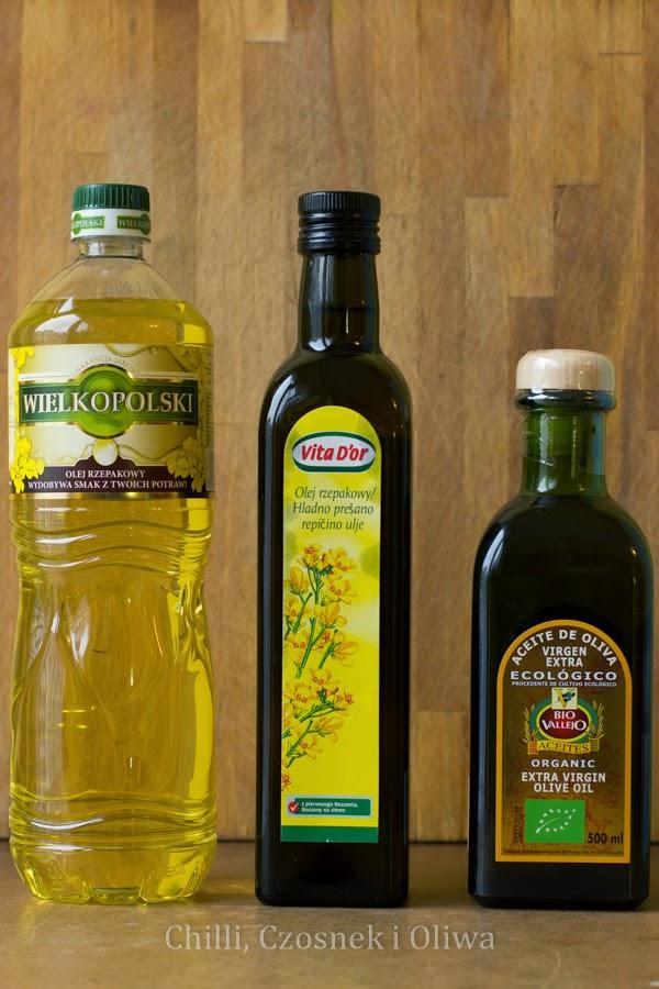 olej rzepakowy oliwa z oliwek