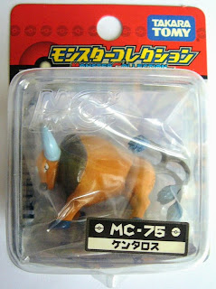 Tauros Pokemon figure Tomy Monster Collection MC series