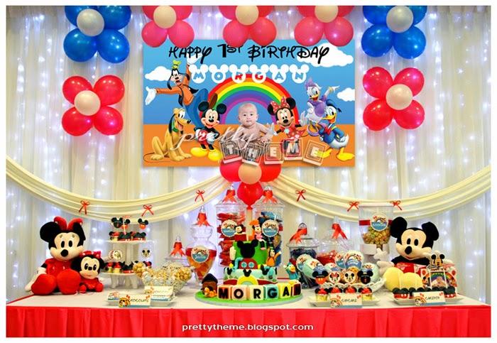 Pretty Theme Event Planner: Candy Buffet Portfolio