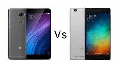 Xiaomi Redmi 4 Vs Xiaomi Redmi 3s