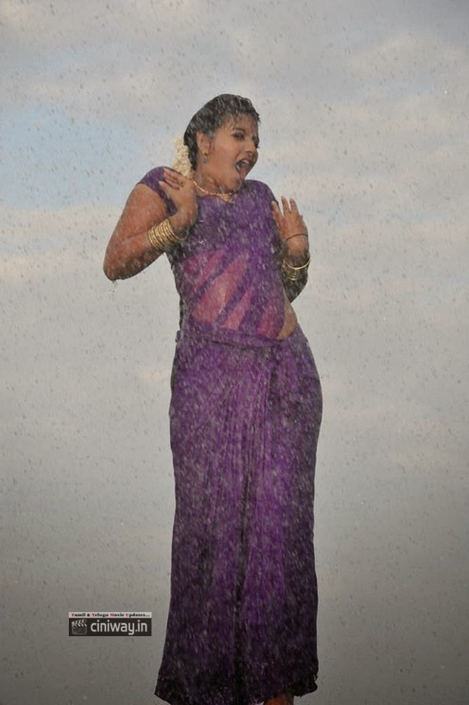Tamilcinestuff   Anjali Rain Dance In Saree Hot Girls -9604