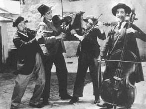 Musiciens klezmers. Libre de droit