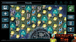 Map screen of Primordia from Xenoblade Chronicles X