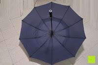 auf: Golf Regenschirm, Pomelo Best Automatik auf Windresistent mit 128cm Durchmesser aus robusten 190T Pongee Stockschirm geeignet für 3-4 Personen