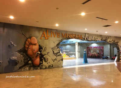 Alive Musuem Ancol , Wisata Spot Foto Yang Instagramable