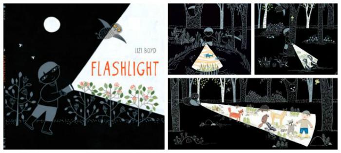 cuentos sin texto flashlight o la linterna mágica