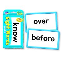 Sight Word Flashcards Set B