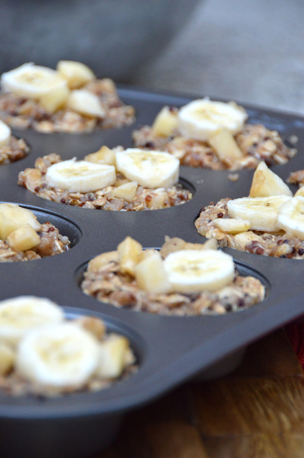 Best Apple Banana Quinoa Breakfast Cups Recipe