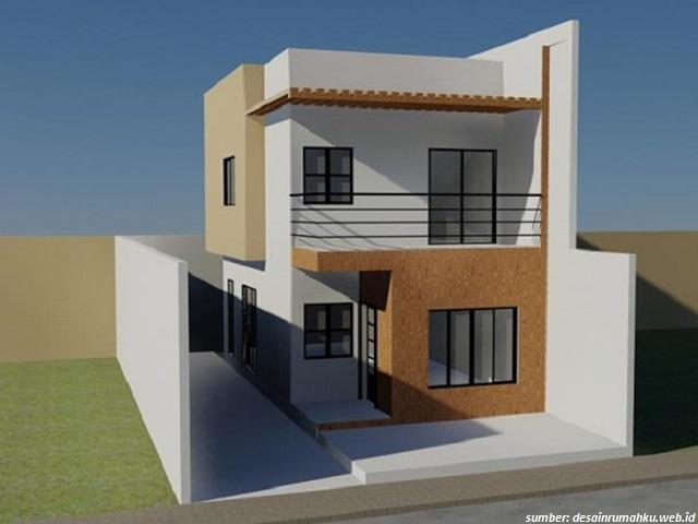 33 model rumah sederhana minimalis 2 lantai bergaya modern