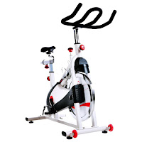 Sunny Health & Fitness SF-B1509 Premium Indoor Cycle Spin Bike, belt-drive, review features compared with SF-B1509C