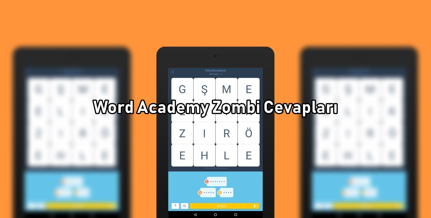 Word Academy Zombi Cevaplari