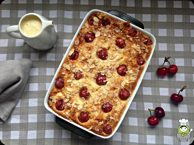 receta de pastel de cerezas alemán