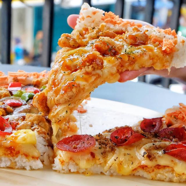 Cara Memasak Resep Pizza Nasi Sosis Keju Teflon