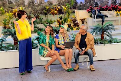 Bibi, Mamá, Dadá e Carlos Alberto (Crédito: Lourival Ribeiro/SBT)