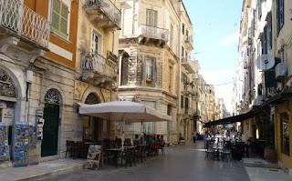 Ciudad vieja de Corfú o Korkyra.