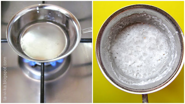 опыт для детей - выпаривание соли