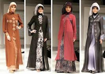 Model Baju Muslim Batik Buat Tampil Keren Di 2016
