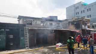Cerita Petugas Pakai Air Got Saat Padamkan Api di Tambora