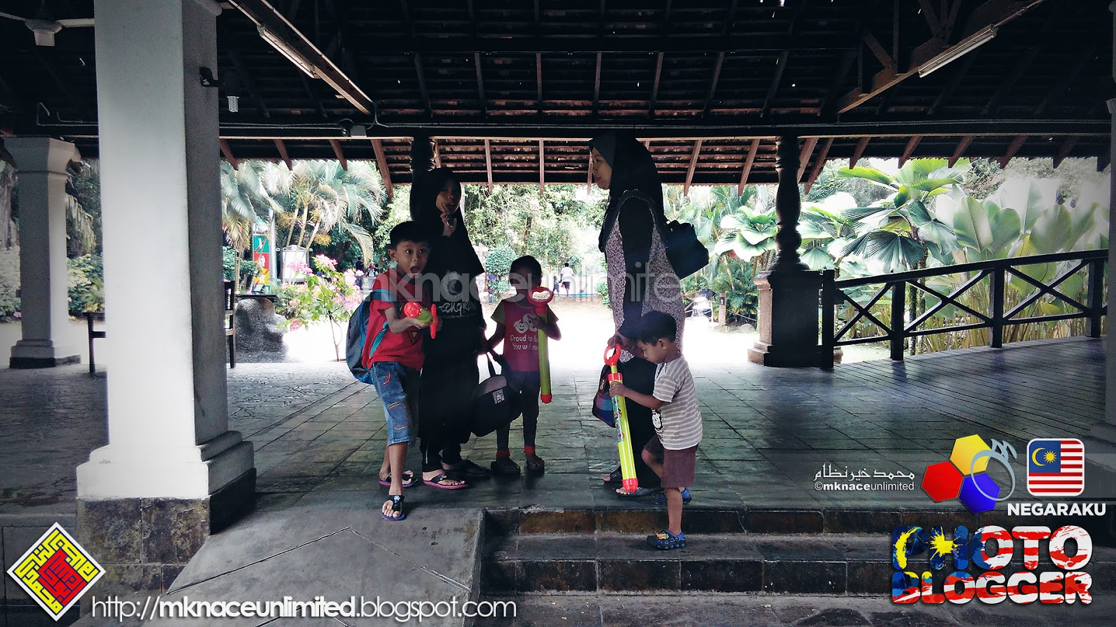 Yok Jenjalan Kolam Rekreasi Air Hutan Bandar Mbjb Mknace Bendera Merah Putih Plastik Flag Palstik Posing Sedas