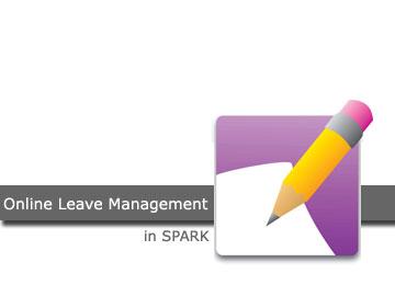 Online Leave Management System in SPARK