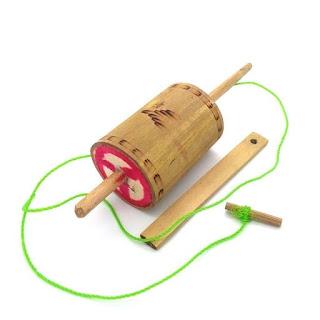 permainan tradisional dari bambu