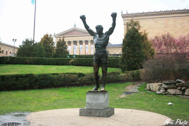 M-ii Photo : Philadelphie, Pennsylvanie - Rocky Musée des Arts