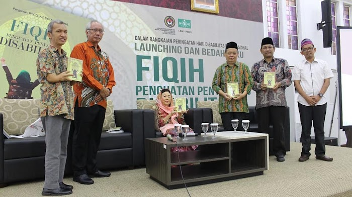 "Nahdlatul Ulama Launching Buku ""Fikih Penguatan Penyandang Disabilitas"""