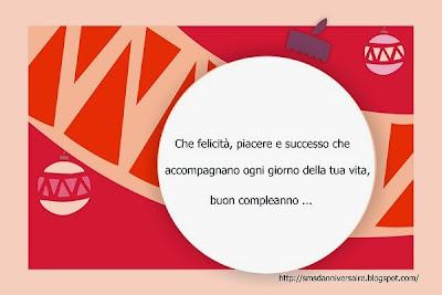 message joyeux anniversaire en italien