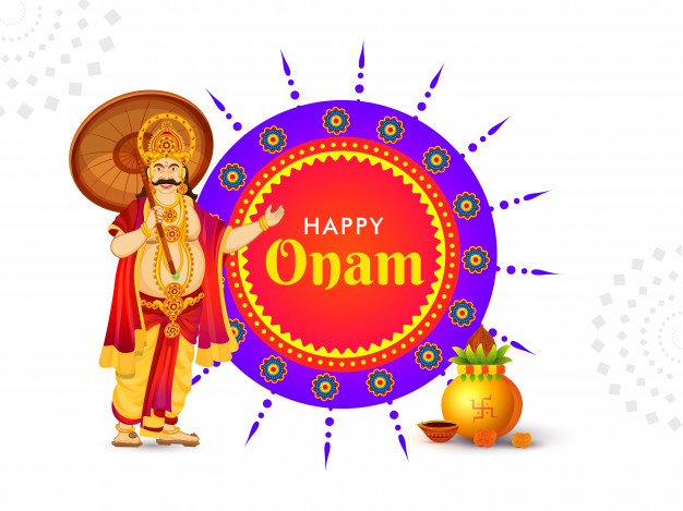 Happy onam poster design