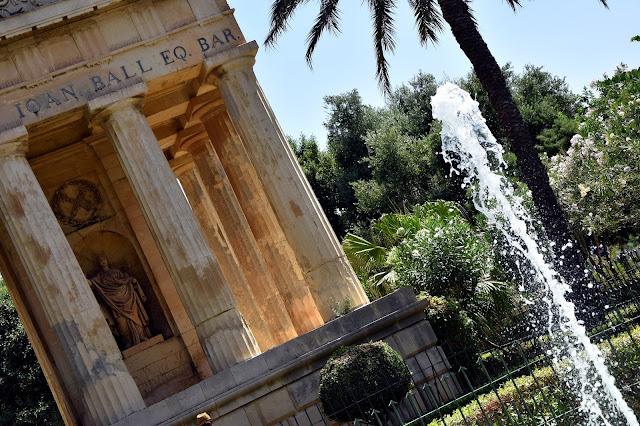 Upper Baracca Gardens, Valetta, Malta
