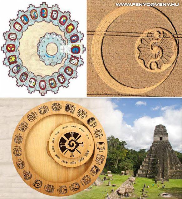 Hasonlóságok: Maya naptár