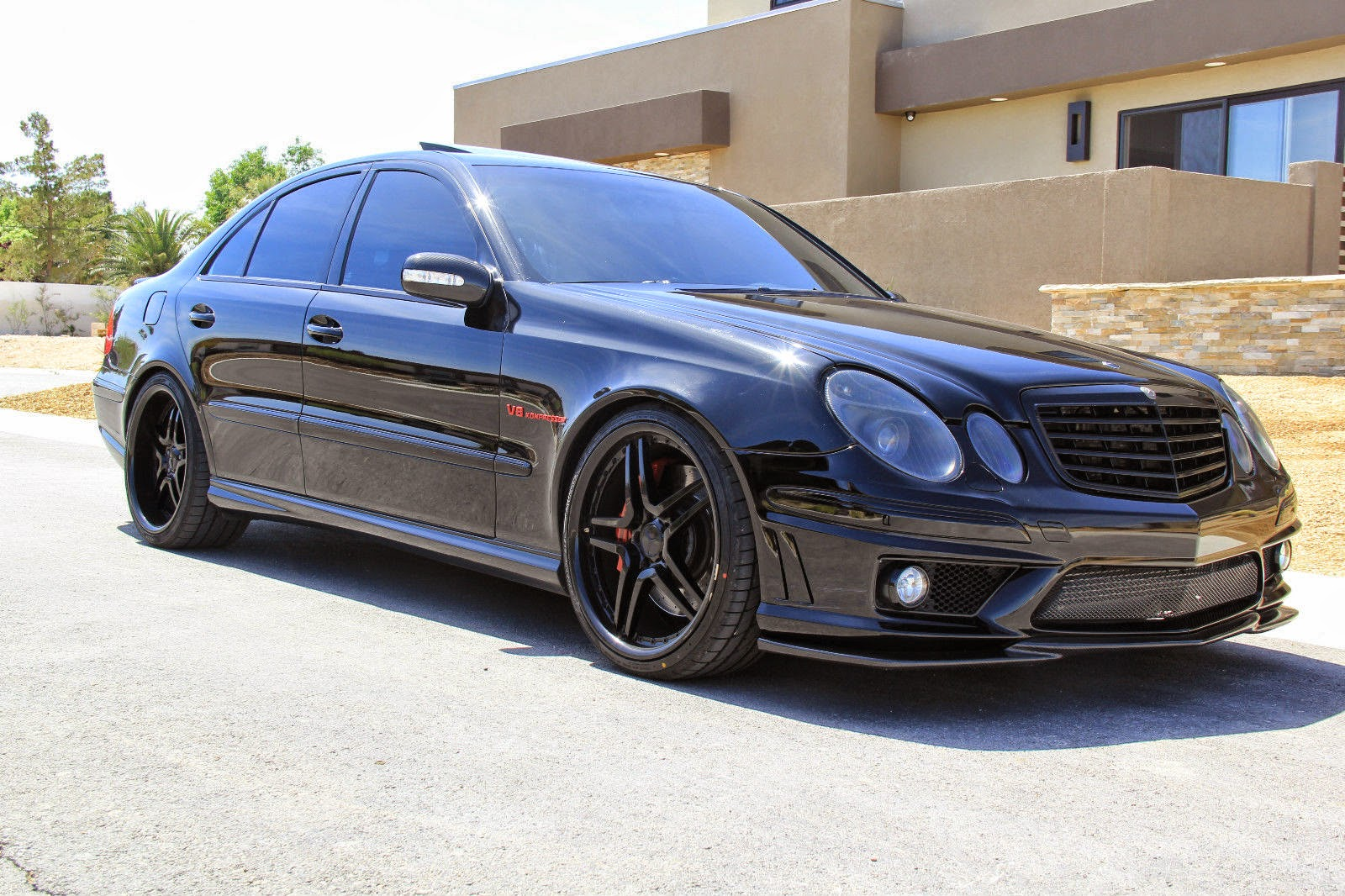 mercedes benz w211 e55 amg renntech shadowline benztuning. Black Bedroom Furniture Sets. Home Design Ideas