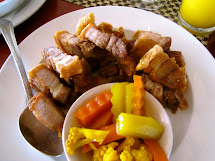 Good Food Happiness Ate In Bohol Philippines