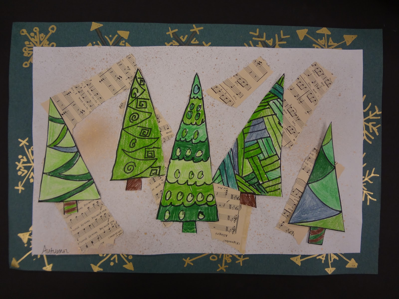Sharpies, Paint, And Paper! Oh My!: Trees, Trees, And More