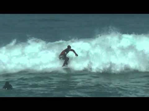 Sesion de Surf en La Zurriola 20 de Marzo de 20142